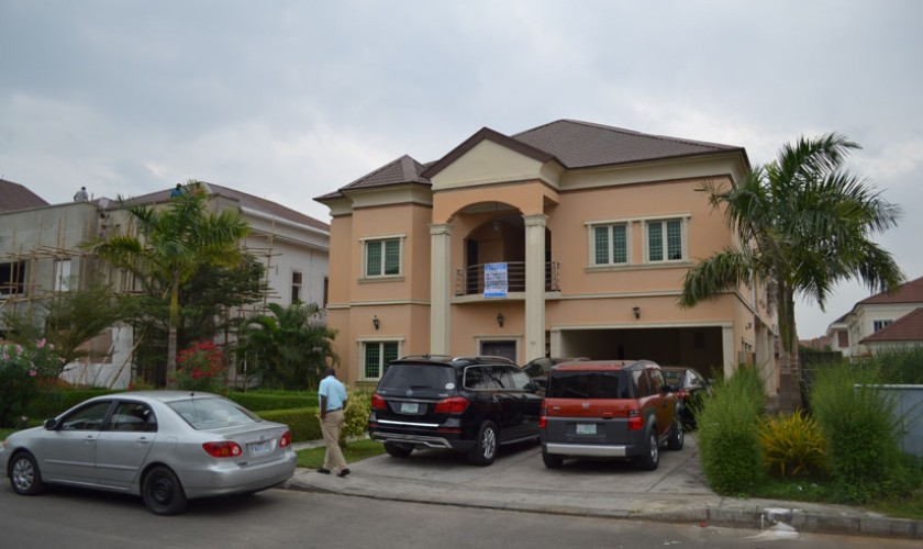 5 bedroom duplex at Nicon Town